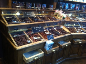 A whole shop full of chocolate!