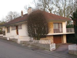 The house where I lived with my family in the village of Ars-sur-Moselle.