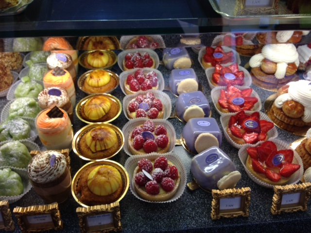 Voila the patisserie five steps from my apartment! Life should always begin with cake.
