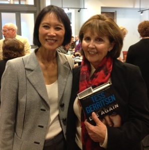 Here I am fan-girling with Tess Gerritsen at the Jacksonville Library event in February.