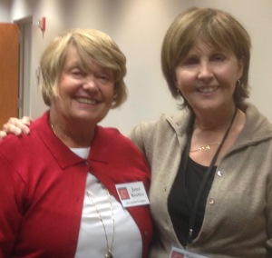 Incoming 2016 President Janet Kuchler and myself--outgoing 2015 Prez