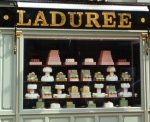 Not surprisingly Laduree is very close to our apartment (funny, no matter where we stay in Paris it always seems to be in walking distance!
