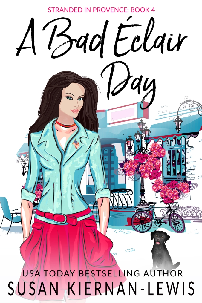 Susan Kiernan-Lewis.A Stranded In Provence Mystery.A Bad Eclair Day.Update